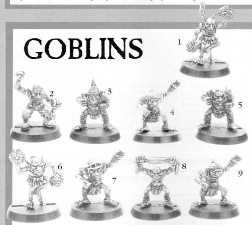 Blood Bowl Goblins!