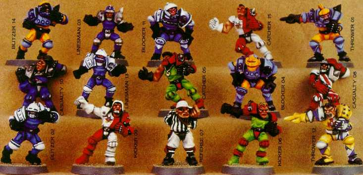 Blood Bowl Humans!