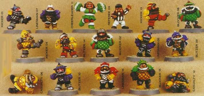 Blood Bowl Dwarfs!