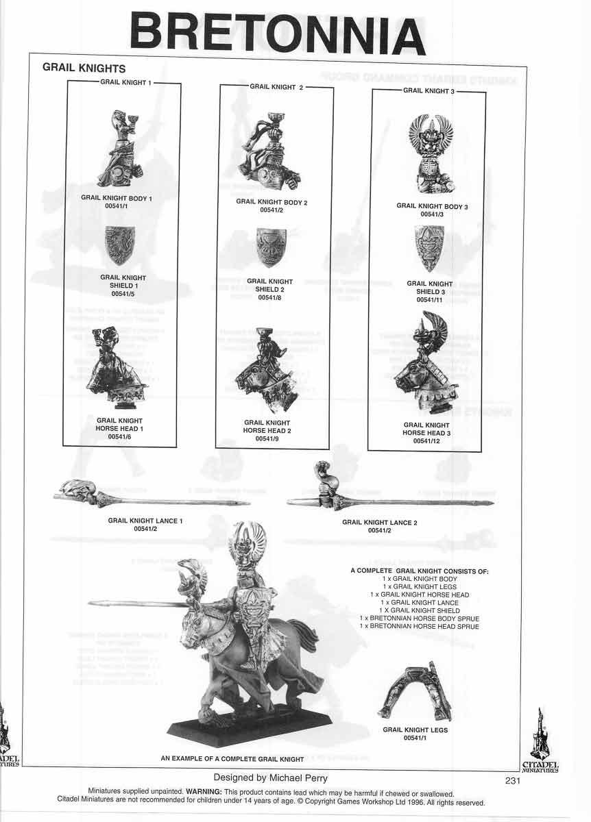 Warhammer Embossed Knight Shields Citadel Empire Bretonnian