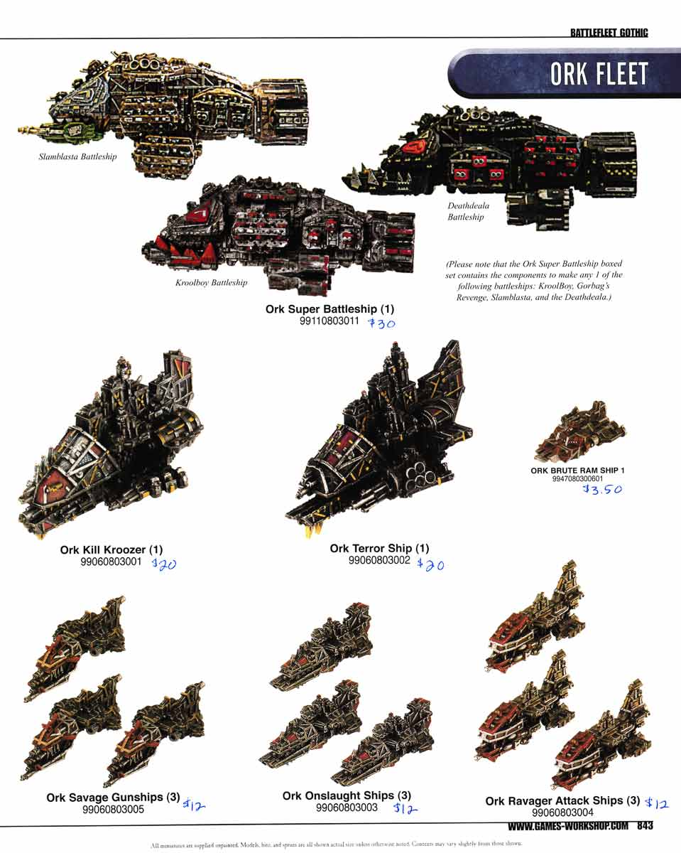 Fleet Commander - Warhammer 40k - Les Orks C2006usp0843-00