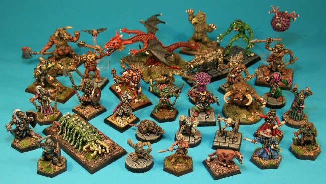 OTHERWORLD - The Citadel AD&D Miniatures Range